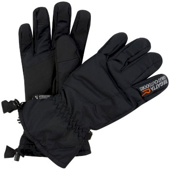 Regatta Men's Transition Waterproof Gloves - Black