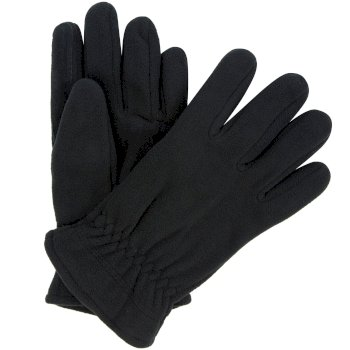 Regatta Men's Kingsdale Thermal Microfleece Gloves - Black