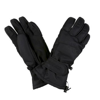 Regatta Men's Transition II Waterproof Insulated Touchtip Gloves - Black