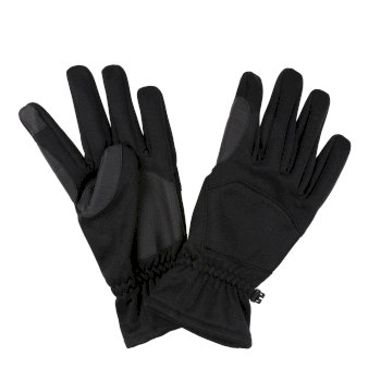 Regatta Men's Softshell Touchtip Gloves - Black
