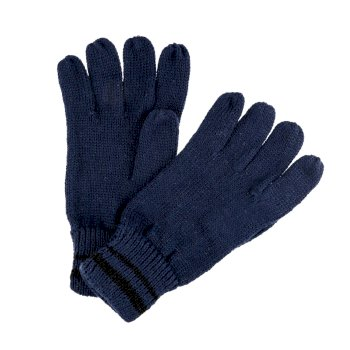Regatta Men's Balton II Knitted Gloves - Navy Black
