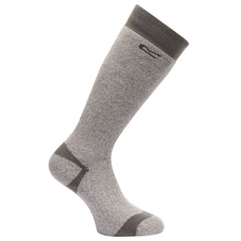 Regatta Men's Welly Sock Seal Grey