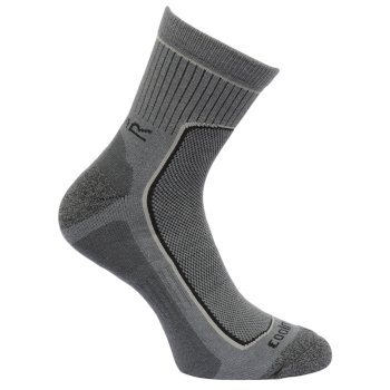 Regatta Men's 2 Pack Active Socks - Dark Denim Granite
