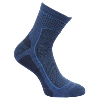 Regatta Men's Active Lifestyle Socks Dark Denim Granite