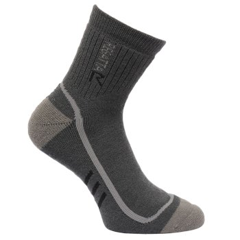 Regatta Men's 3 Season Heavyweight Trek & Trail Socks - Iron