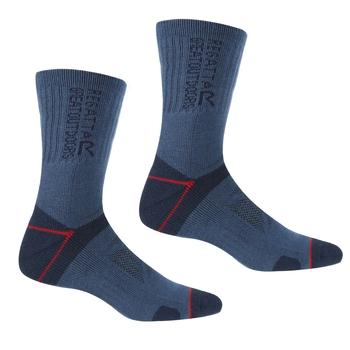 Blister Protection II Socken für Herren Blau