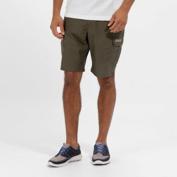 Regatta Men's Delph Cargo Shorts Ivy Green