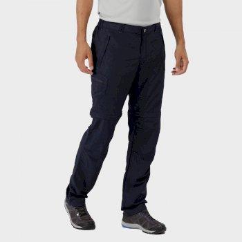 Leesville Zip Off Trousers Navy