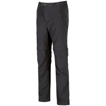 Men's Leesville Lightweight Zip Off Hiking Trousers Ash