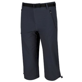 Xert Stretch II Herren-Caprihose Seal Grey