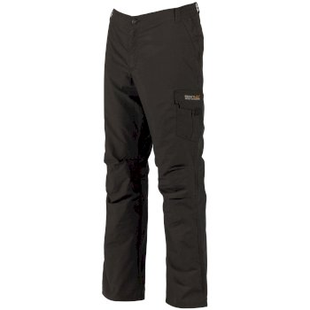 Regatta Men's Lined Delph Cargo Trousers Iron