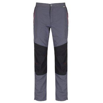 Sungari leichte Wander-Stretchhose für Herren Seal Grey Black