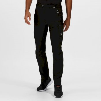 Regatta Men's Highton Multi Pocket Walking Trousers - Black