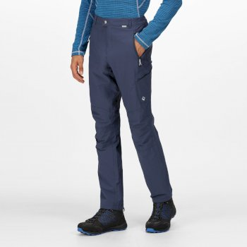 Regatta Men's Highton Multi Pocket Walking Trousers - Dark Denim