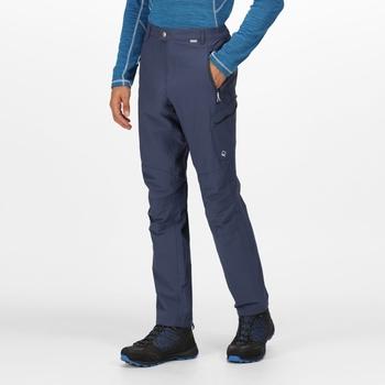 Highton Walkinghose mit vielen Taschen für Herren Blau