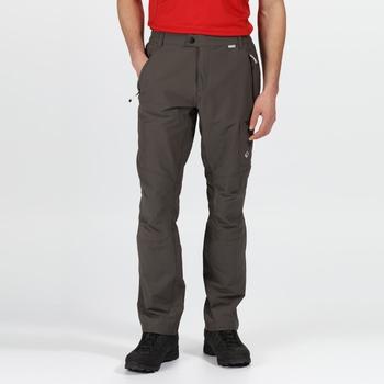 Highton Walkinghose mit vielen Taschen für Herren Grau