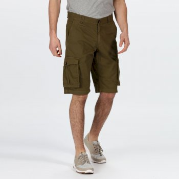 Men's Shorebay Vintage Look Cargo Shorts Grün