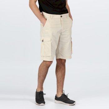 Men's Shorebay Vintage Look Cargo Shorts Braun