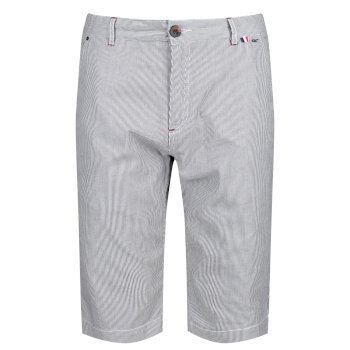 Salvador II Herren-Shorts Blauer Ticking Stripe
