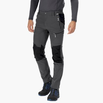 Questra II Softshell-Stretchhose für Herren Grau
