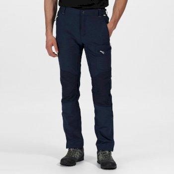 Questra II Softshell-Stretchhose für Herren Blau