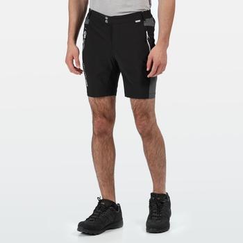 Mountain Shorts für Herren Schwarz