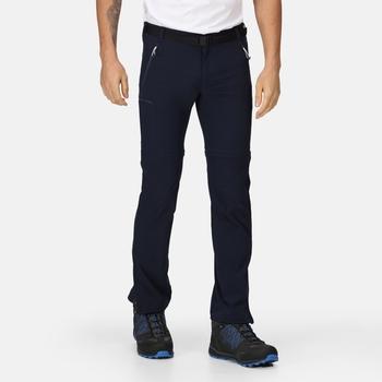 Xert III Zip-Off-Stretchhose für Herren Blau