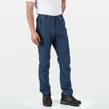 Leesville II Zip-Off-Hose für Herren Blau