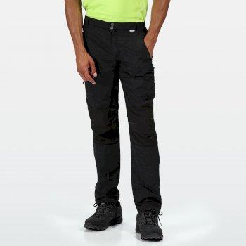 Sungari II Walkinghose für Herren Schwarz