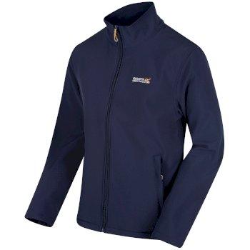 Cera III Softshell-Jacke mit Trichterkragen für Herren Navy