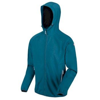 Arec II Softshell-Walkingjacke mit Kapuze für Herren Blau