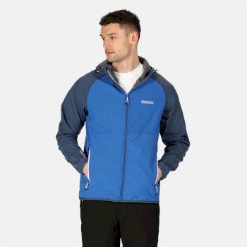 Arec II Softshell-Jacke mit Kapuze für Herren Blau