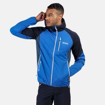 Tarvos III Softshell-Jacke mit Kapuze für Herren Blau