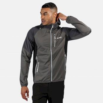 Tarvos III Softshell-Jacke mit Kapuze für Herren Grau