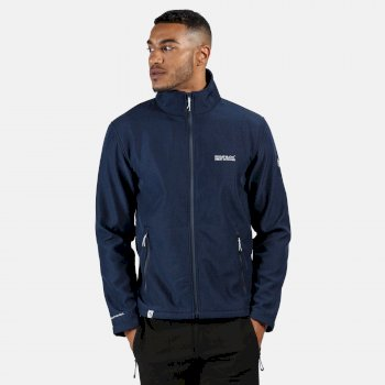 Regatta Men's Cera IV Softshell Jacket - Navy Marl