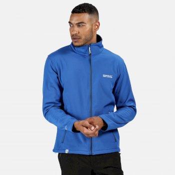 Cera IV Softshell-Jacke für Herren Blau