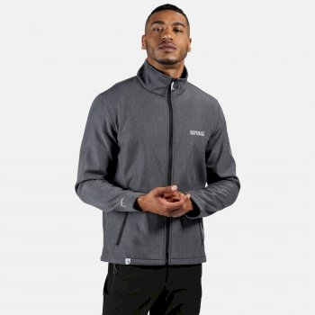 Regatta Men's Cera IV Softshell Jacket - Seal Grey Marl