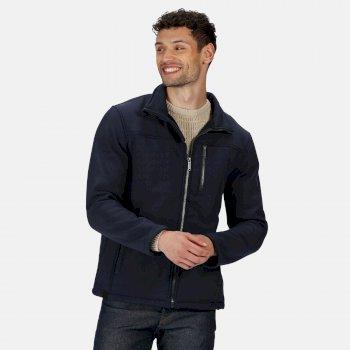 Conlan II winddichte Softshell-Jacke für Herren Blau