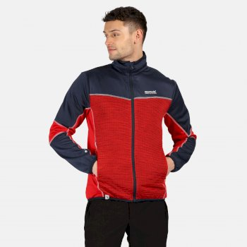 Yare III Softshell-Stretch-Midlayer für Herren Rot