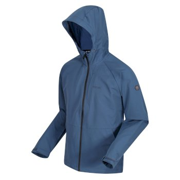 Regatta Men's Westville Hooded Softshell Walking Jacket - Dark Denim