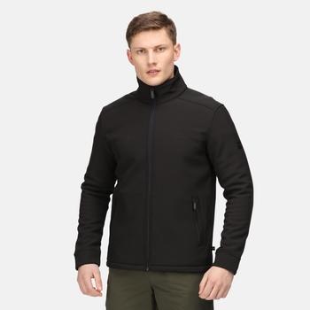 Caelum winddichte Softshell-Jacke für Herren Schwarz