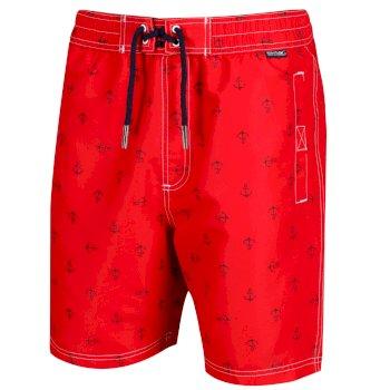 Regatta Men's Hadden II Printed Swim Shorts - Pepper