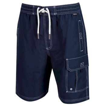Regatta Men's Hotham III Board Swim Shorts - Navy