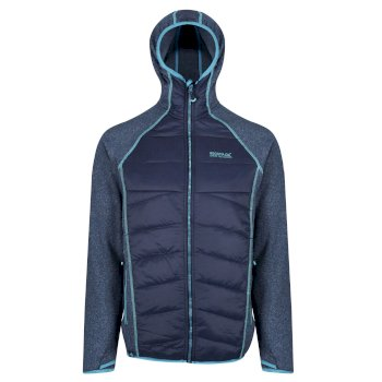 Regatta Andreson III Hybrid Stretch Lightweight Insulated Jacket Navy
