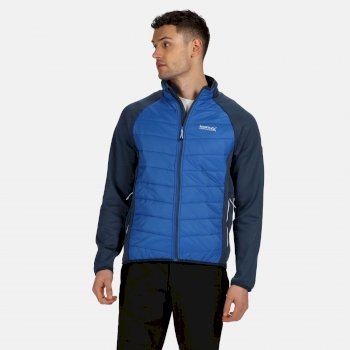 Regatta Men's Bestla Hybrid Lightweight Insulated Jacket - Dark Denim Nautical Blue
