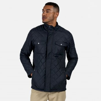 Regatta Men's Lleyton Quilted Jacket - Navy
