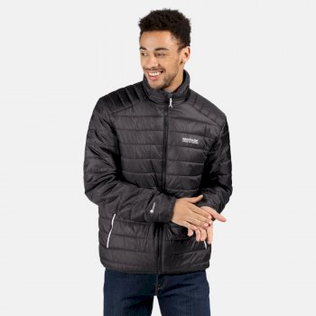 Regatta Men's Freezeway II Insulated Quilted Walking Jacket - Ash