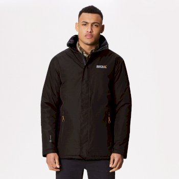 Regatta Thornridge Waterproof Insulated Jacket Iron Navy