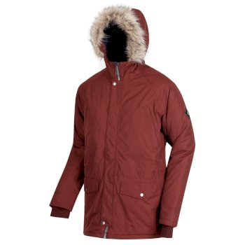 Salton Breathable Waterproof Insulated Parka Jacket Chocolate