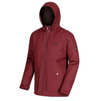 Regatta Hebson Waterproof Insulated Jacket Burgundy